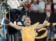 Nadal dismantles Tsitsipas to reach Australian Open final