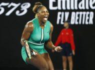Serena edges top seed Halep to reach quarters