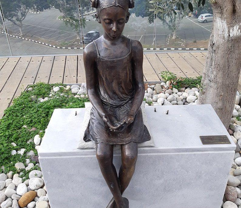 Bronze birds stolen from gentle Paphos statue