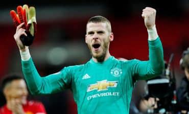 De Gea could be best United keeper ever, says Solskjaer