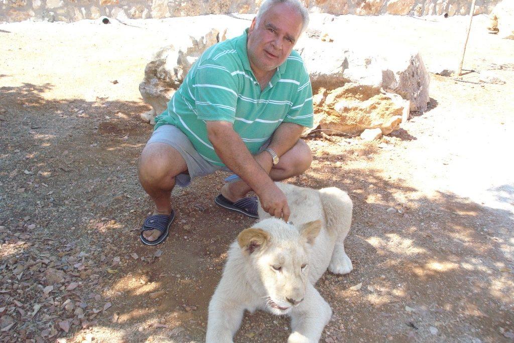 Zoo owner Christos Christoforou