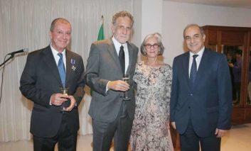 Brazilian honour for Consul Keheyan