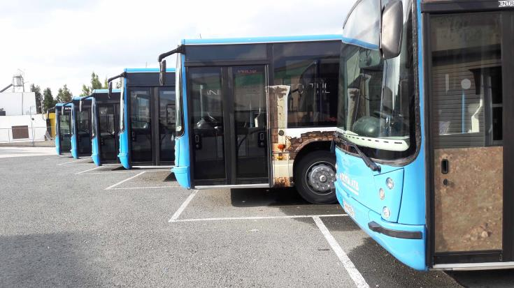 Paphos bus drivers accept deal, returning to work Monday (Updated)