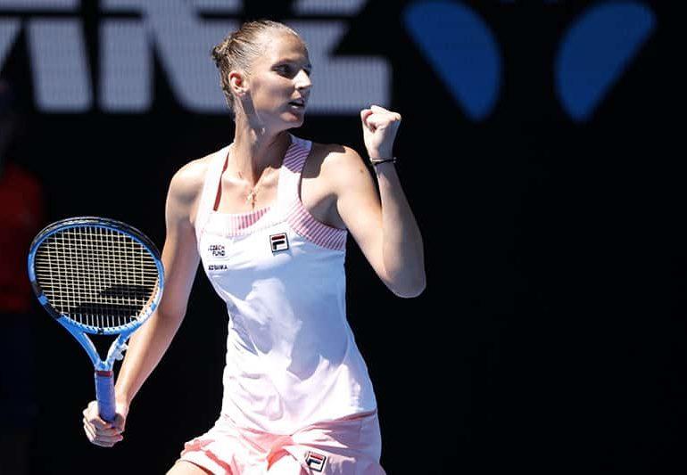 Plucky Pliskova stuns Serena to set up semi-final clash with Osaka