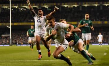 Resurgent England upset Six Nations holders Ireland