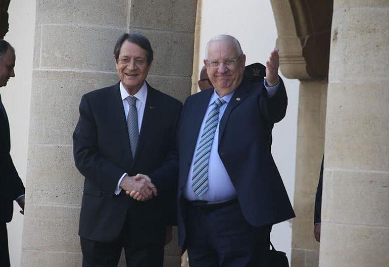 Israeli president begins Cyprus visit