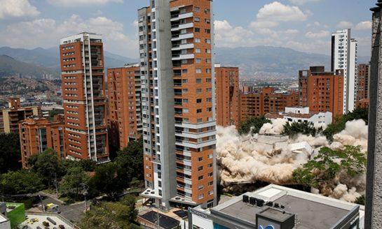 Colombia demolishes drug kingpin Pablo Escobar's former home