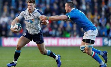 Scotland's Huw Jones to miss remainder of Six Nations