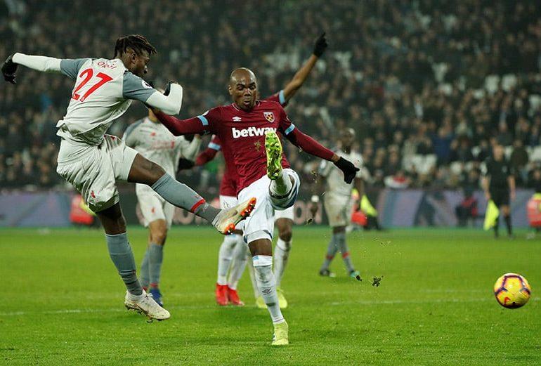 Liverpoolstutter in draw at West Ham