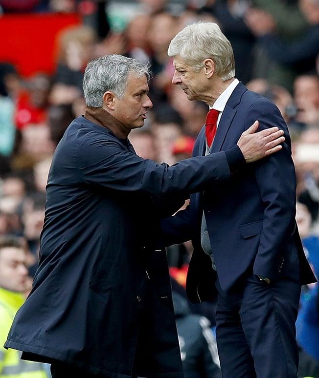 Mourinho holds Wenger in high regard despite clashes
