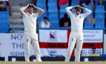 England struggles continue as West Indies dictate opening day