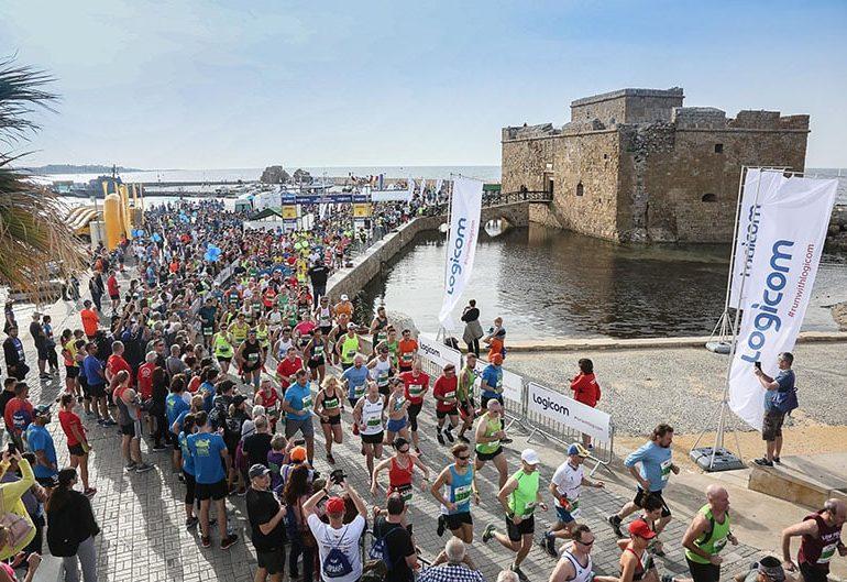 3,500 runners in Paphos marathon