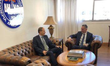 Naval base buzz builds as French ambassador visits Mari