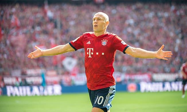 Robben picks Anfield as his 'worst stadium' ahead of return