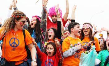 The carnival comes to Aglantzia