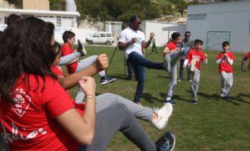 Anastasiades attends bicommunal footie game, Akinci refuses due to venue