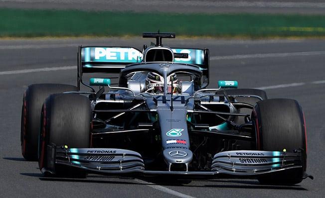 Hamilton takes pole as Mercedes speed stuns rivals
