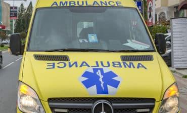 Manhunt after man left critical in doorstep attack
