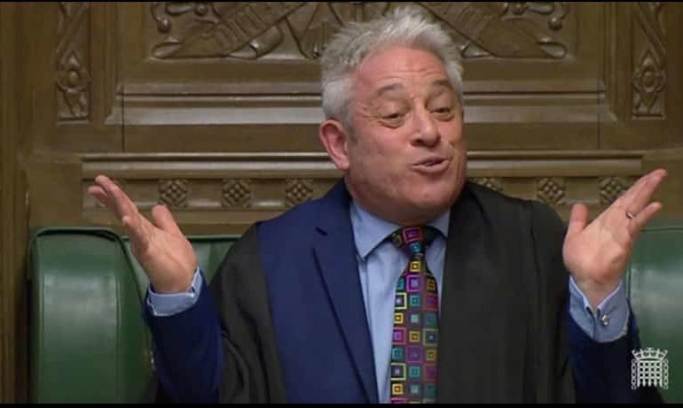 Speaker John Bercow derails PM May's plan for third vote, for now