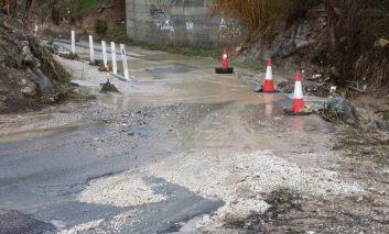 Dangerous bridge in Chlorakas due revamp