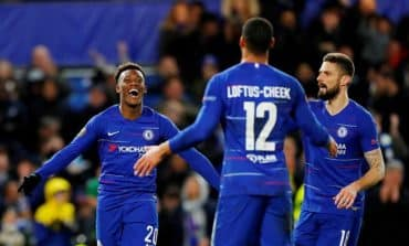 Chelseatoo strong for Kiev, close in on Europa League quarter-final spot