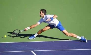 Djokovic and Osaka crash out at Indian Wells