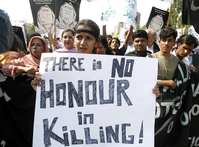 Pakistani seeking justice for honour killings 'killed by nephew'