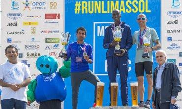 Kenyan runners dominate Limassol marathon (photos)