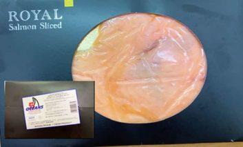 Health ministry recalls batch of smoked salmon