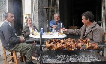 Cypriot adults eat on average 39.8kg of souvla or souvlaki a year