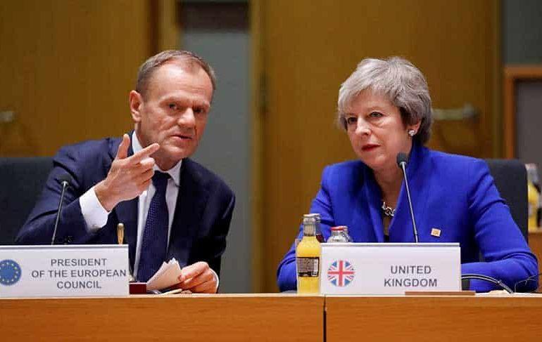May asks EU for Brexit delay until June 30 (Update 2)