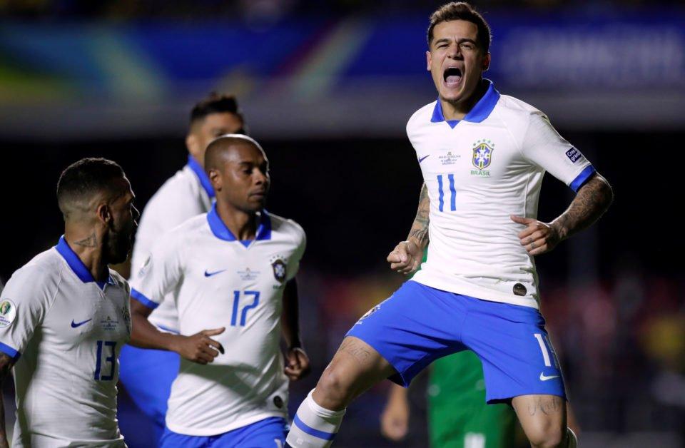 VAR Penalty, Coutinho Brace Help Brazil Beat Bolivia