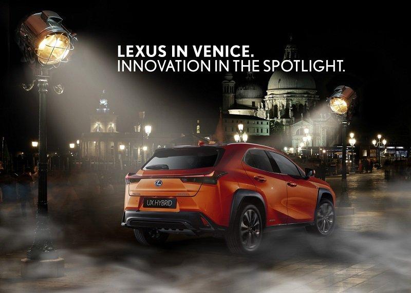 LEXUS: official car of the 76th Venice International Film Festival – La Biennale di Venezia