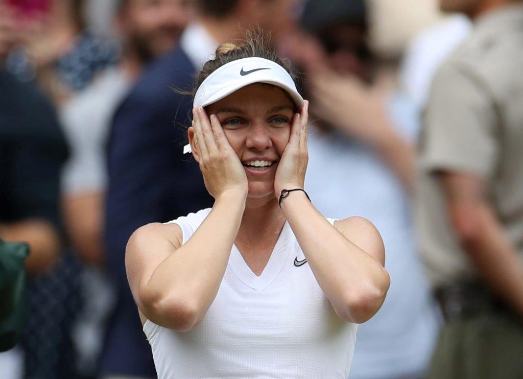 Romania's Halep beats Williams to win maiden Wimbledon title