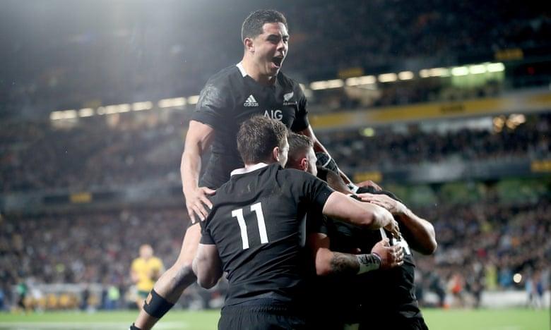 All Blacks thrash Australia 36-0 to retain Bledisloe Cup