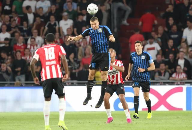 Apollon suffer heavy loss to PSV Eindhoven