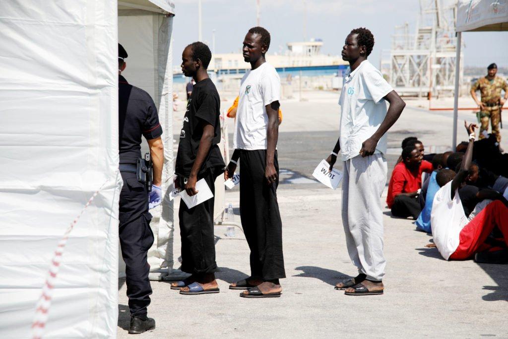 Italy arrests three men suspected of torturing migrants in Libya