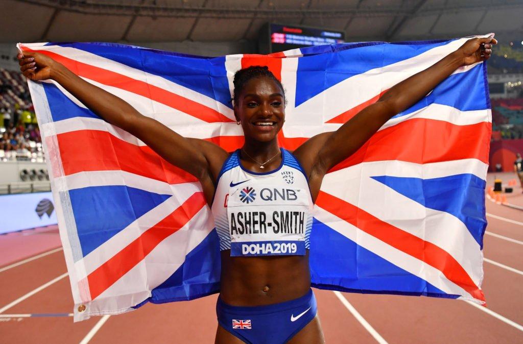 Asher-Smith seizes golden opportunity