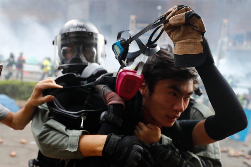 Hong Kong, China November 18, 2019. REUTERS/Thomas Peter