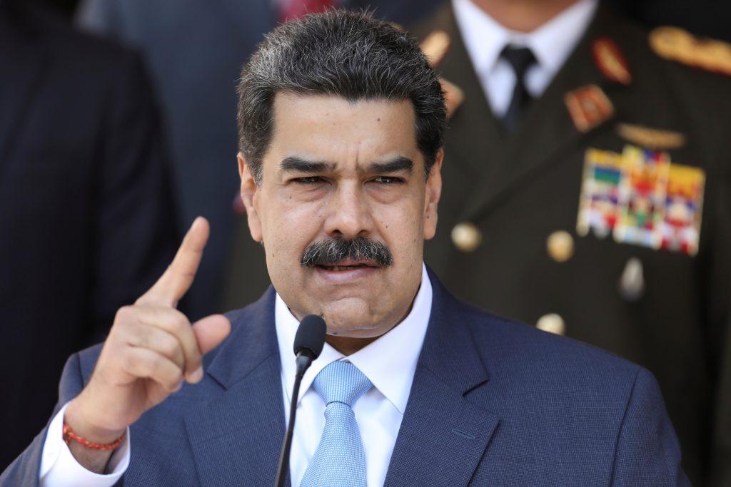 US indicts Venezuela's Maduro for 'narco-terrorism'
