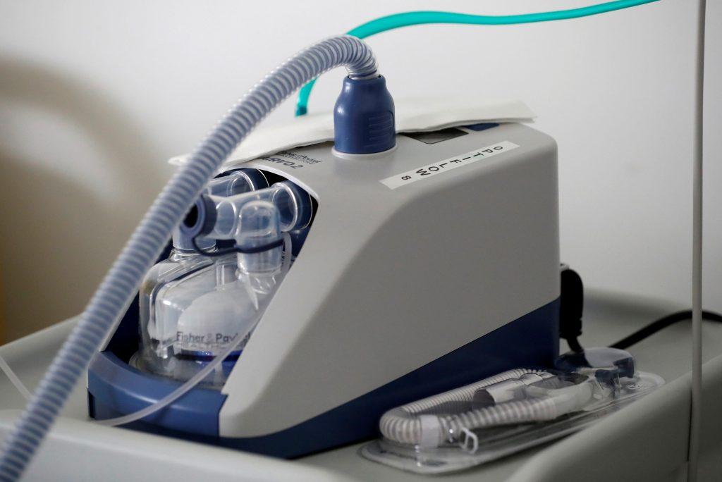Britain orders 10,000 ventilators in fight against coronavirus