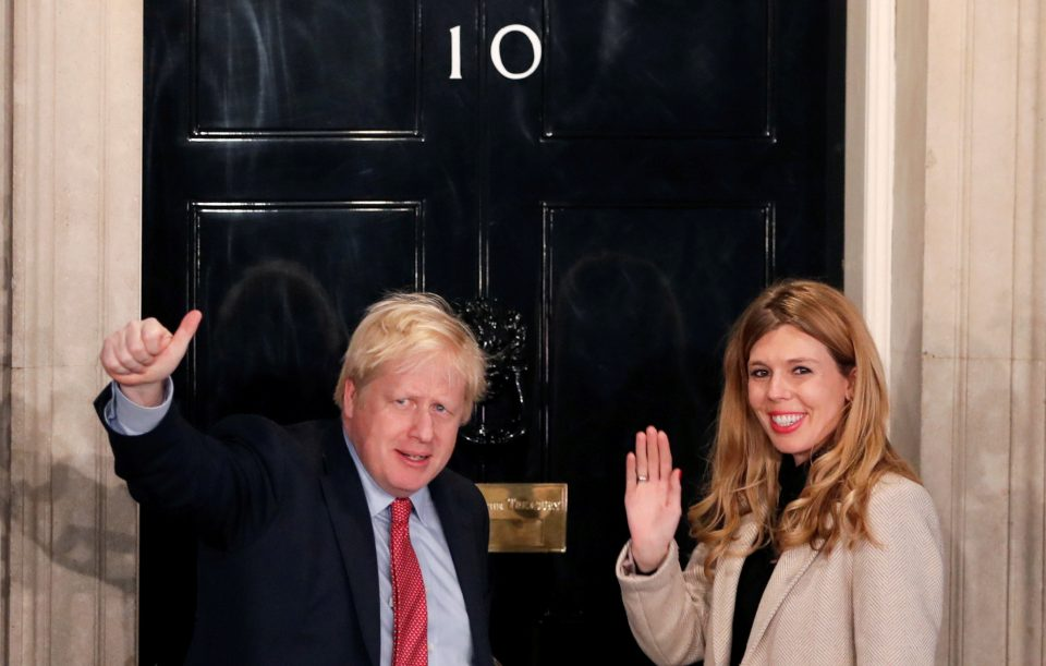 Boris Johnson has 'healthy baby boy' with fiancée Carrie Symonds