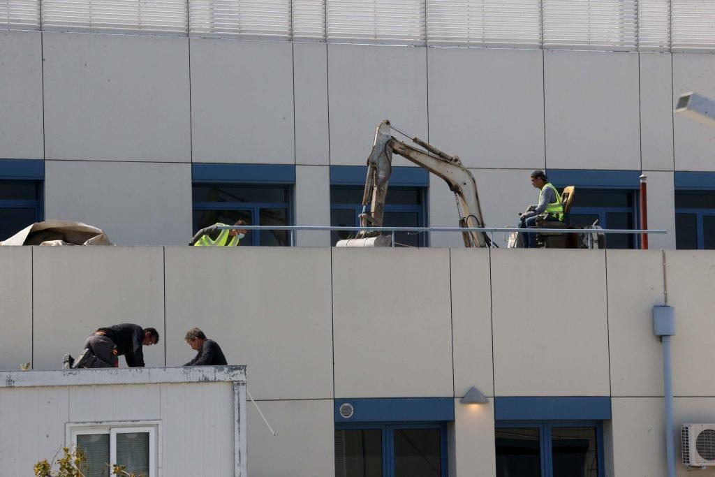 Coronavirus: Work ongoing on new wing at Nicosia general (video)