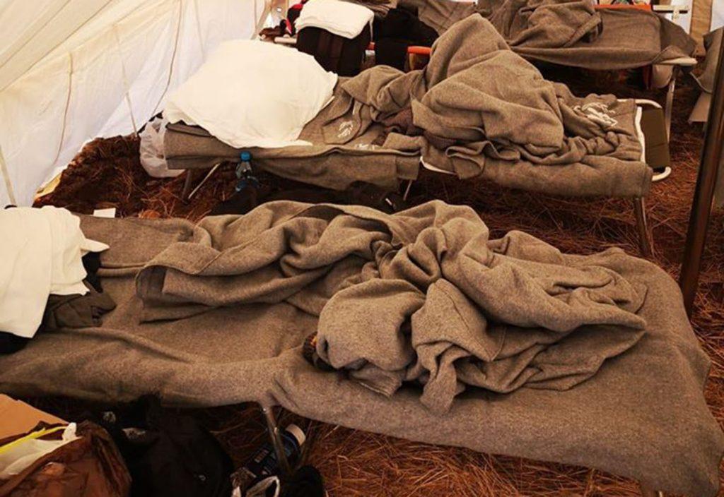 Coronavirus: Dangerous conditions at refugee centre, NGOs say