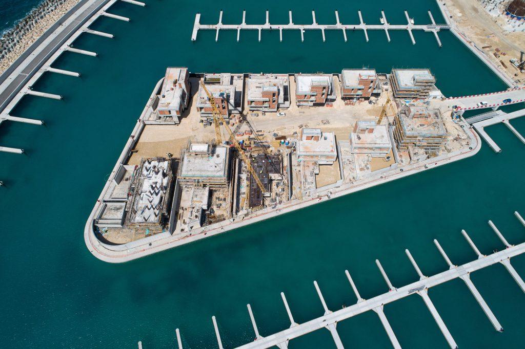 Ayia Napa Marina resumes construction work