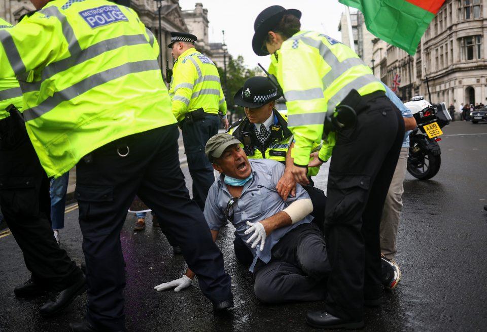 Boris Johnson's convoy in vehicle crash outside Parliament