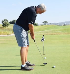 Iain Pyman, a golfer from Whitby, England, has been involved with the sport for the best part of three decades, both as an amateur and a professional. He has played competitively on the main European Tour, as well as the Challenge Tour. His eight tournament wins on the Challenge Tour are a record.