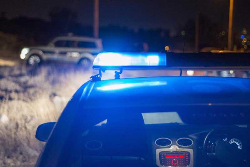Man arrested after drunken outburst