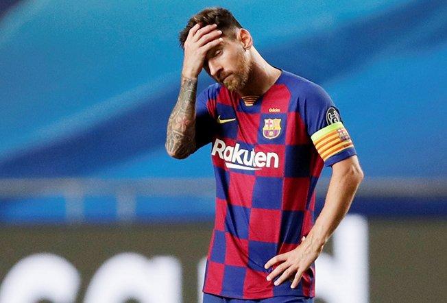 Champions League Quarter Final Fc Barcelona V Bayern Munich