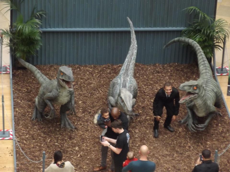 Jurassic World Movie Shooting